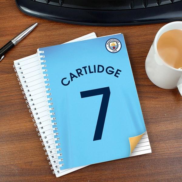 Manchester City A5 Notebook
