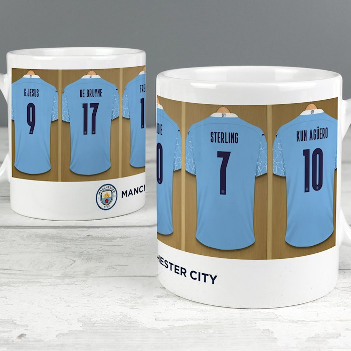 Manchester City FC Dressing Room Mug