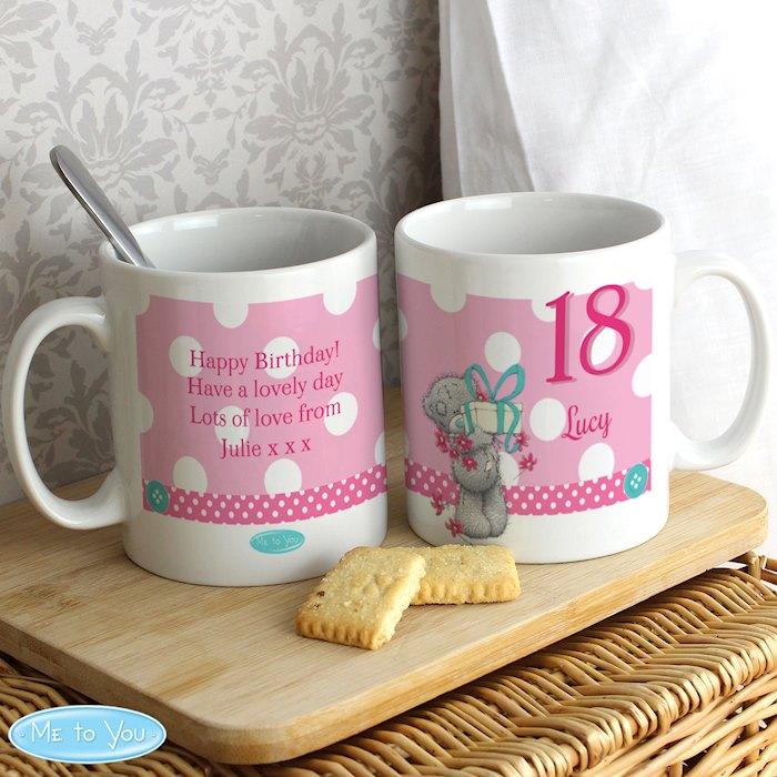 Personalised Me To You Birthday Big Age Female Mug