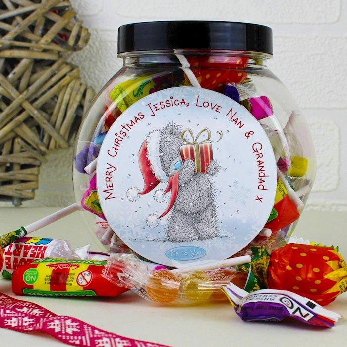 Me To You Christmas Sweet Jar