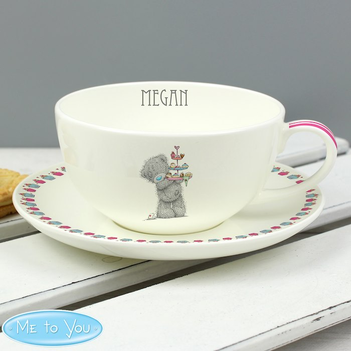 Me To You Cupcake Teacup & Saucer