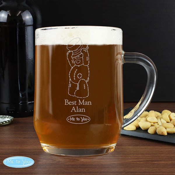 Me To You Engraved Male Wedding Tankard