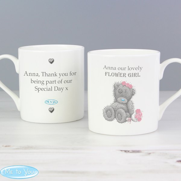 Me To You Girls Wedding Balmoral Mug