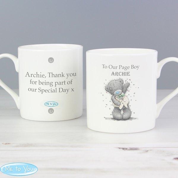 Me To You Male Wedding Balmoral Mug