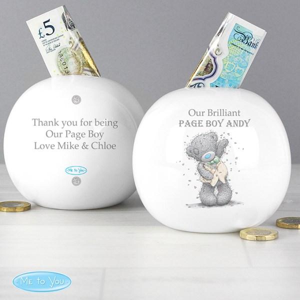 Me To You Male Wedding Money Box