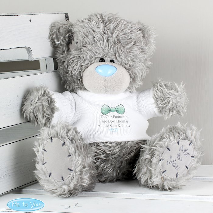 Me To You Boy's Teddy with T-Shirt: for Pageboy and Usher