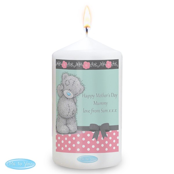 Me To You Pastel Polka Dot for Her Candle