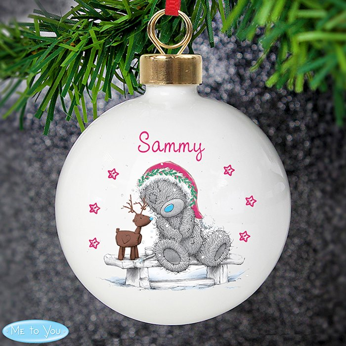 Me To You Reindeer Bauble