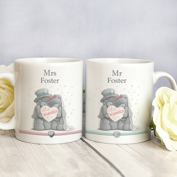 Me To You Wedding Couple Mug Set