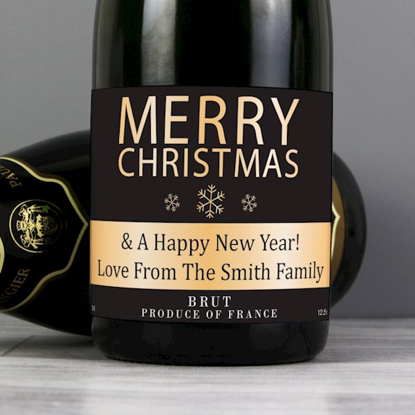 Merry Christmas Champagne
