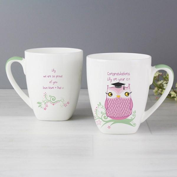 Miss Owl Teacher Latte Mug