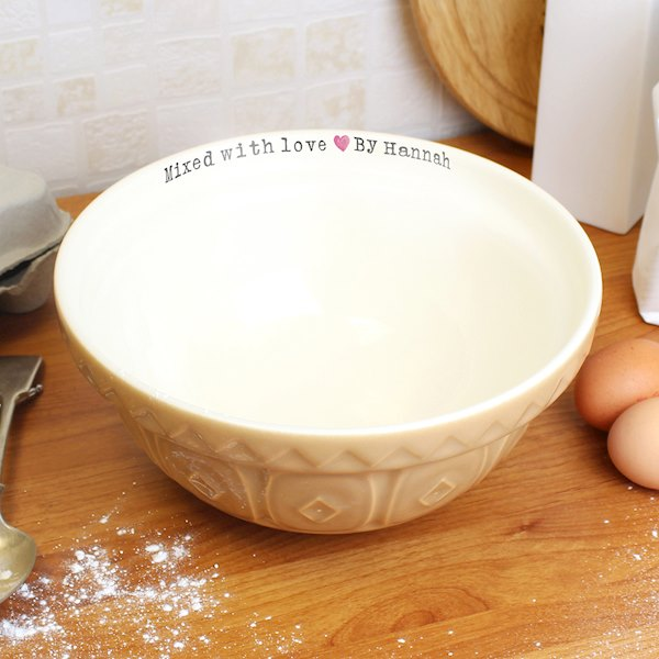 Mixed With Love Mixing Bowl