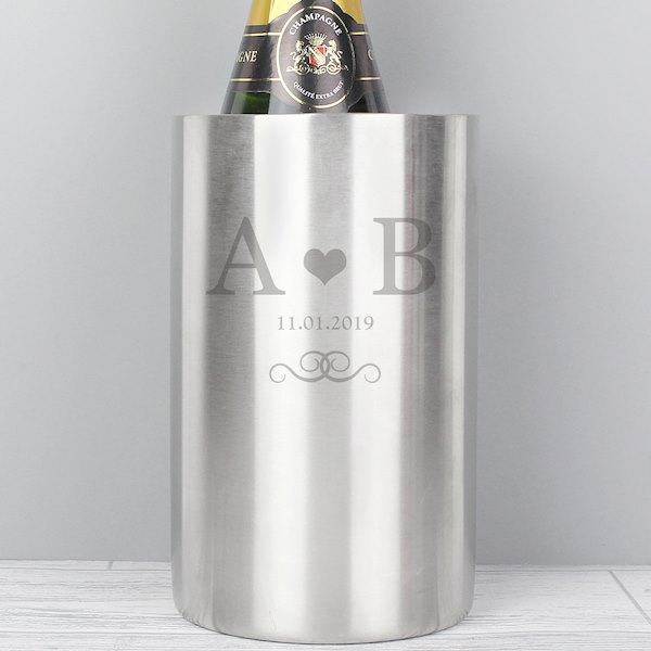Monogram Stainless Steel Wine Cooler