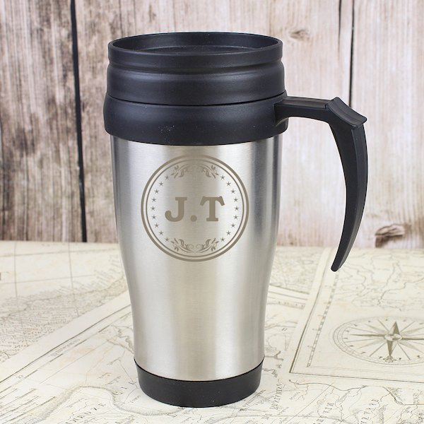 Monogram Travel Mug