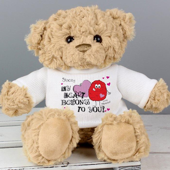 Monster Heart Teddy