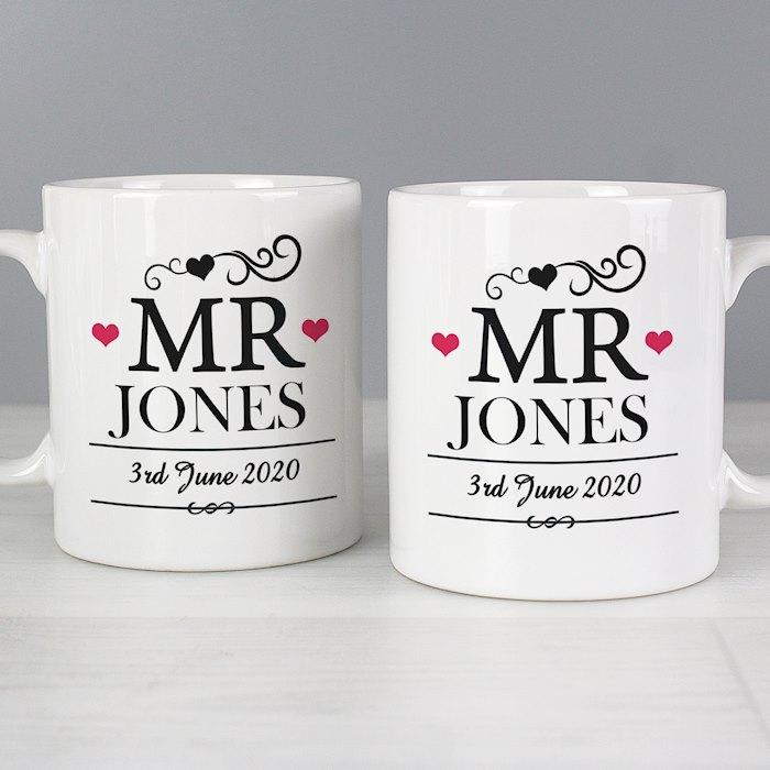 Mr & Mr Mug Set