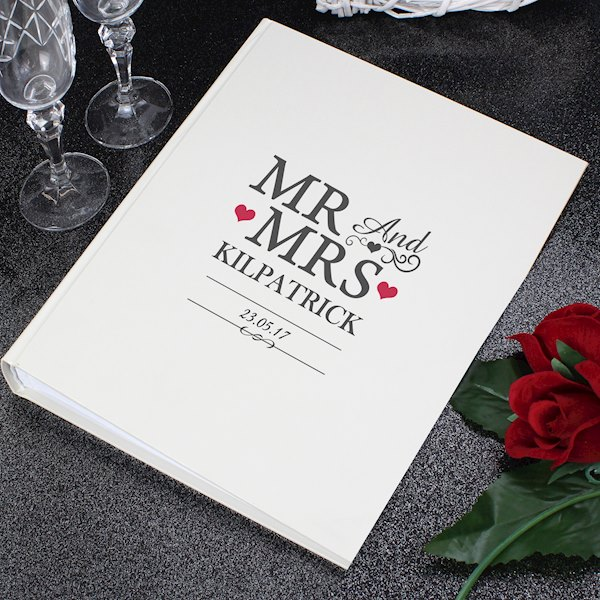 Mr & Mrs Album with Sleeves