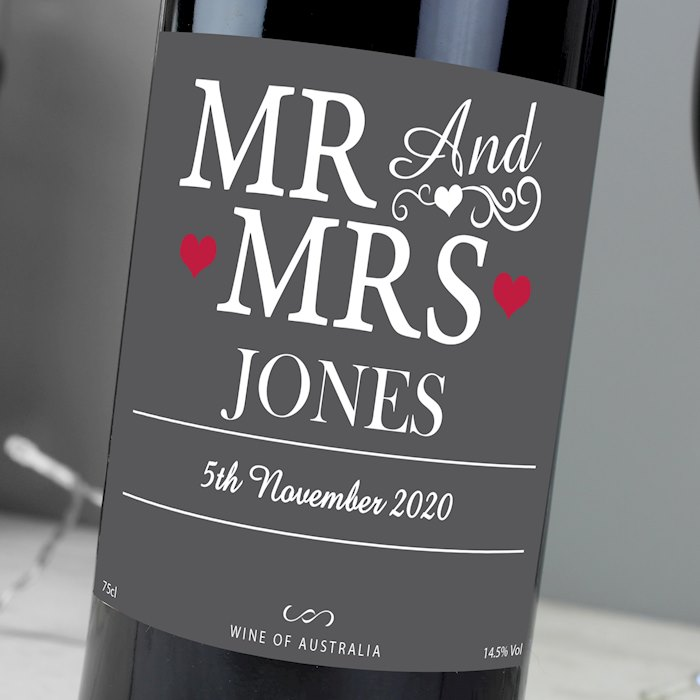 Mr & Mrs Red Wine