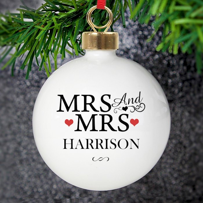 Mrs & Mrs Bauble