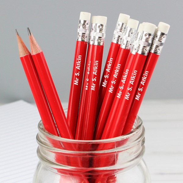 Name Only Red Pencils