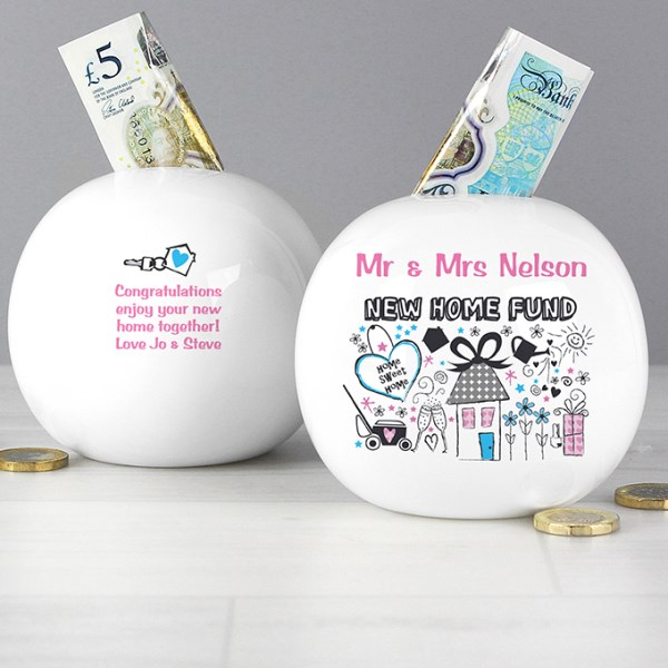New Home Money Box