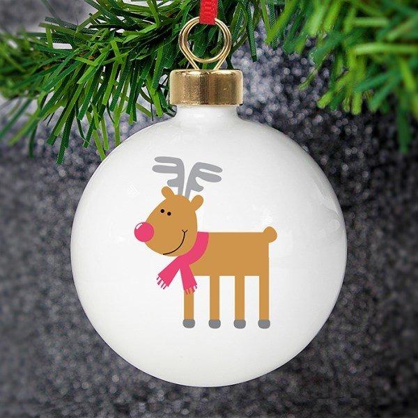New Reindeer Bauble