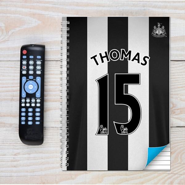 Newcastle United A4 Notebook