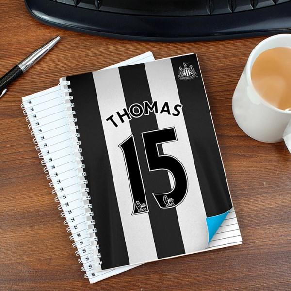 Newcastle United A5 Notebook