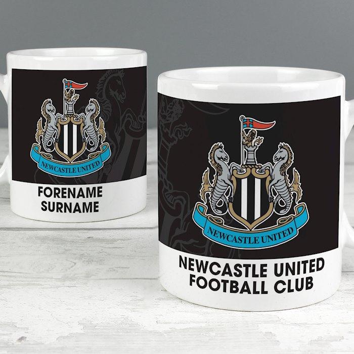 Newcastle United FC Bold Crest Mug