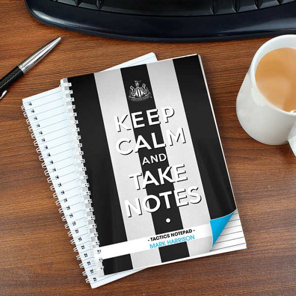 Newcastle United Keep Calm A5 Notebook