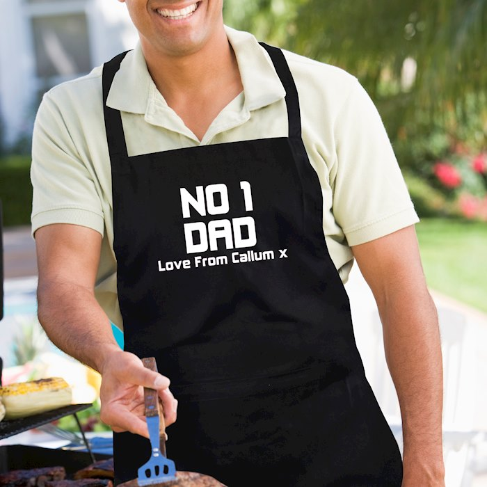 No1 Dad Apron