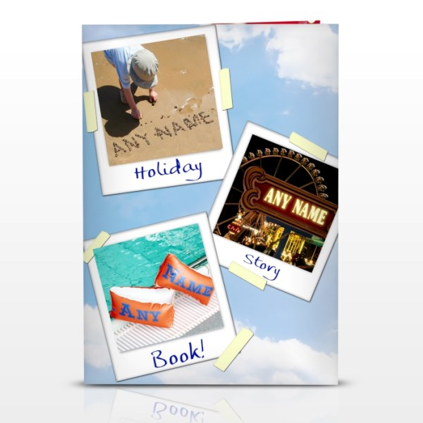 On Holiday Story Book