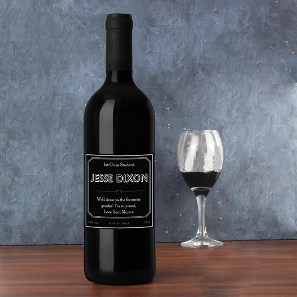 Ornate Red Wine