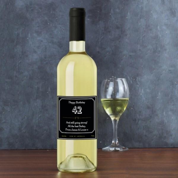 Ornate White Wine