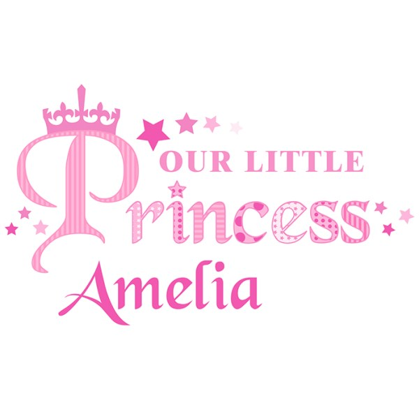 Our Little Princess Wall Art