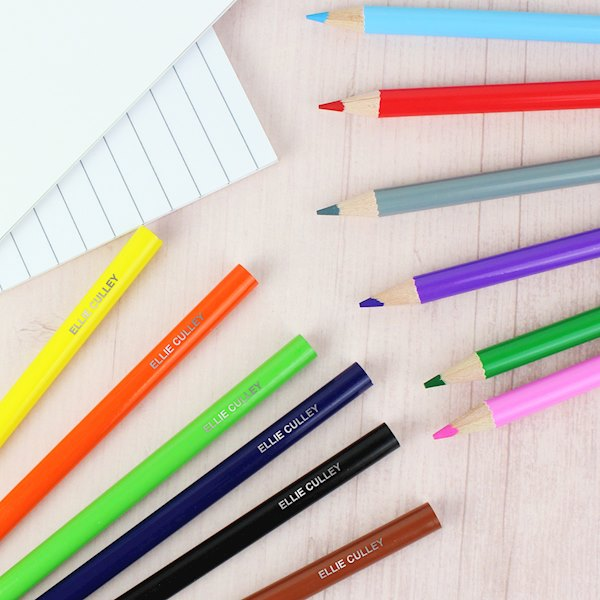 Pack of 12 Colouring Pencils