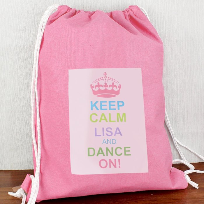 Pastel Keep Calm Swim & Kit Bag