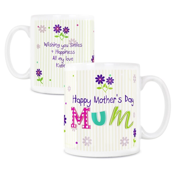 Patchwork Flowers Mug