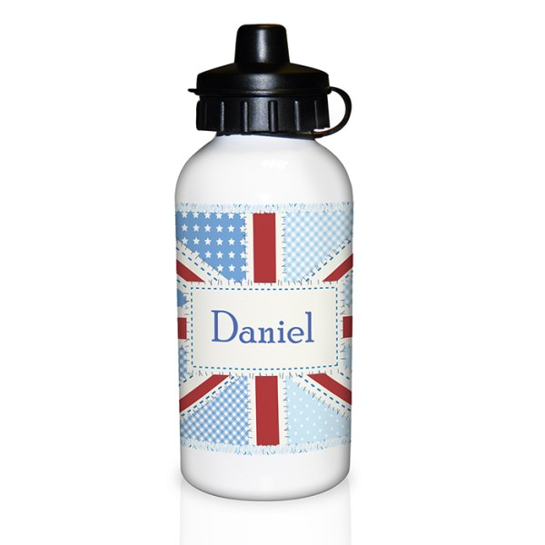 Patchwork Union Jack Drinks Bottle