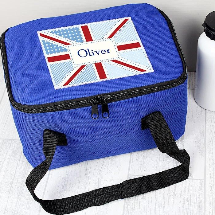 Patchwork Union Jack Lunch Bag