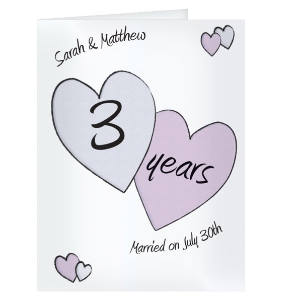 Perfect love Anniversary Card