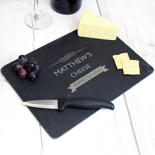 Perfectly Aged Slate Cheeseboard