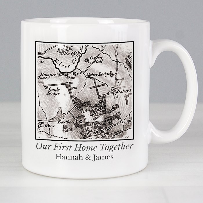 1805 - 1874 Old Series Map Compass Mug