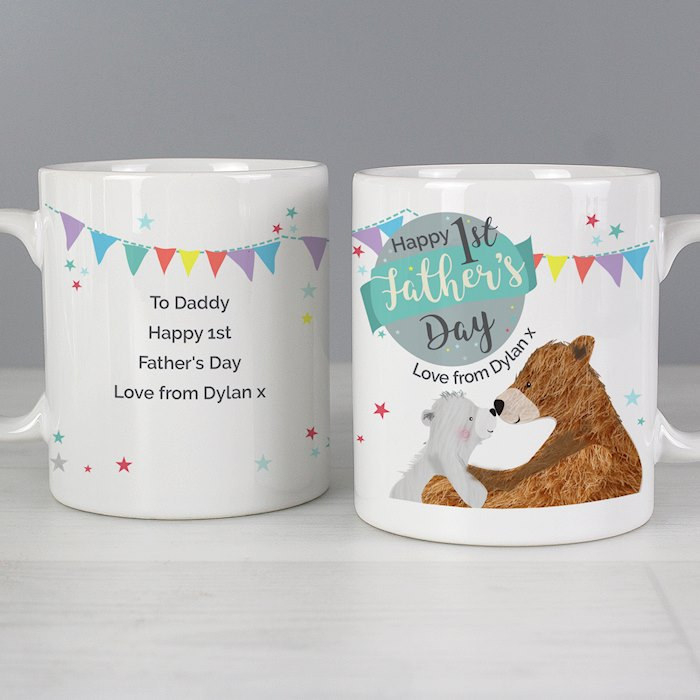 1st Father's Day Daddy Bear Mug