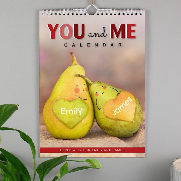 A4 Couple Calendar