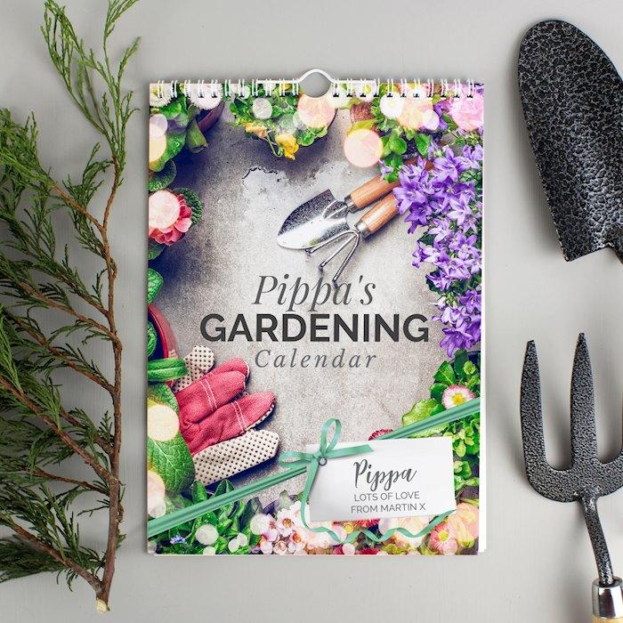A4 Gardening Calendar