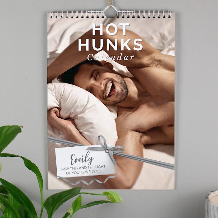 A4 Hot Hunks Calendar
