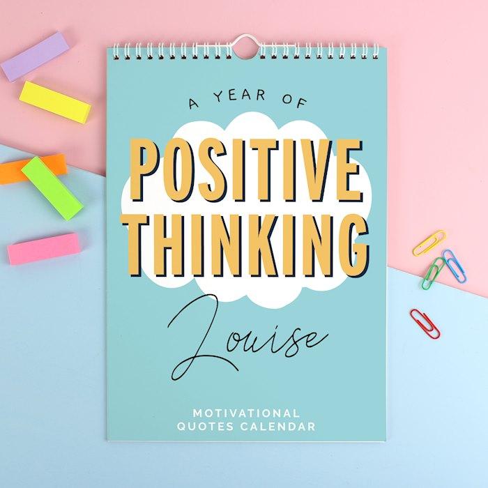 A4 Motivational Quotes Calendar
