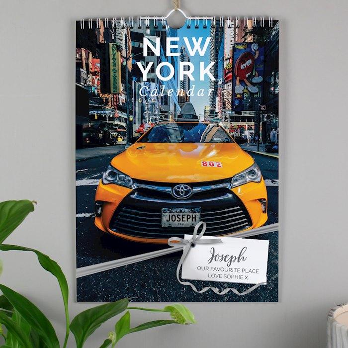 A4 New York Calendar