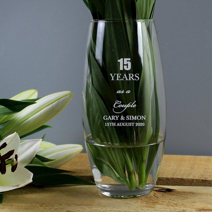 Anniversary Bullet Vase